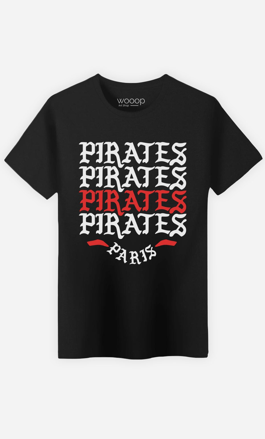 T-Shirt Homme Pirates Paris