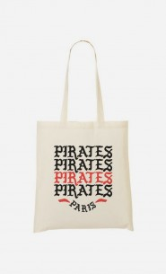 Tote Bag Pirates Paris
