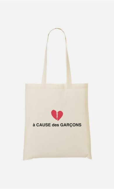 Tote Bag A Cause des Garçons