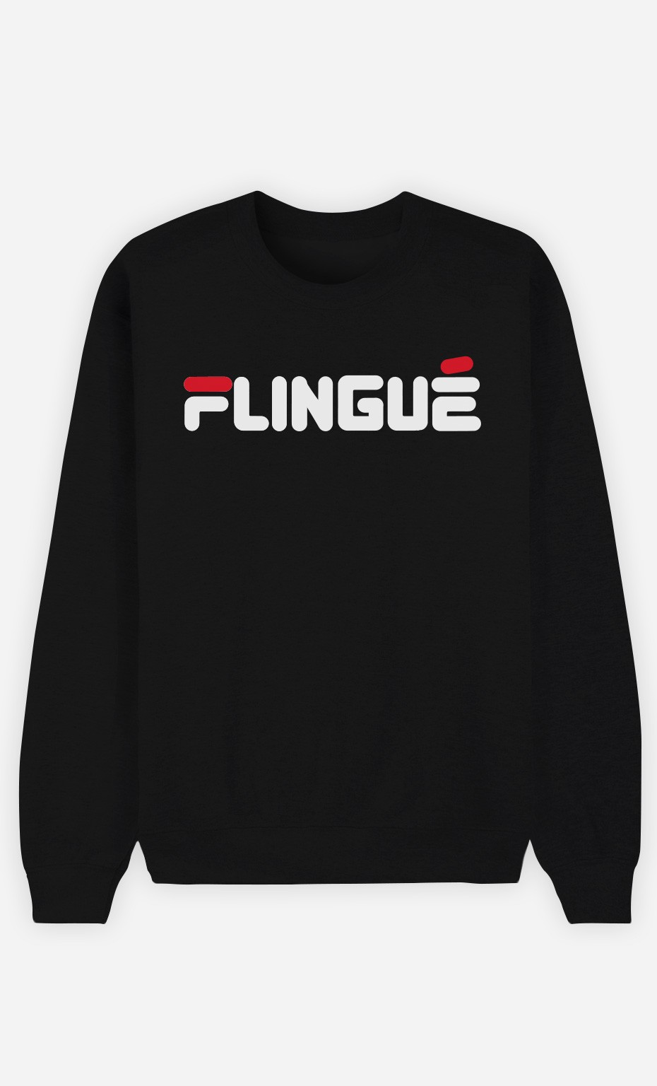 Sweat Noir Flingué
