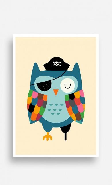 Poster Captain Owl