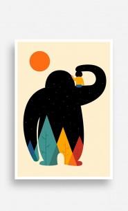 Poster Papa Sloth