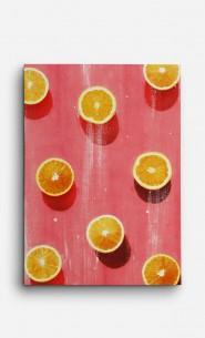 Toile Oranges