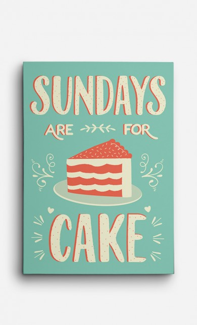 Toile Sundays Are For Cake