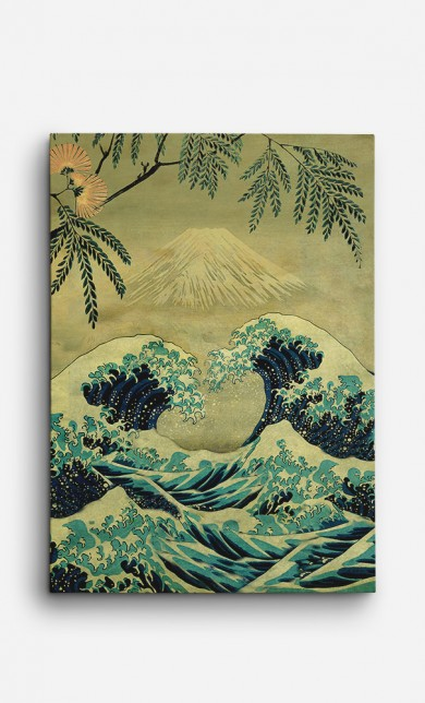 Toile The Great Blue Embrace at Yama