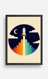 Cadre Rainbow Space