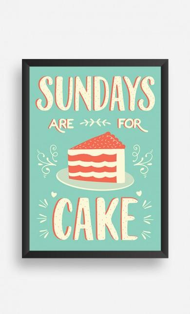 Cadre Sundays Are For Cake