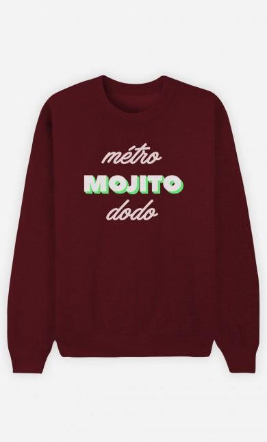 Burgundy Sweater Métro Mojito Dodo