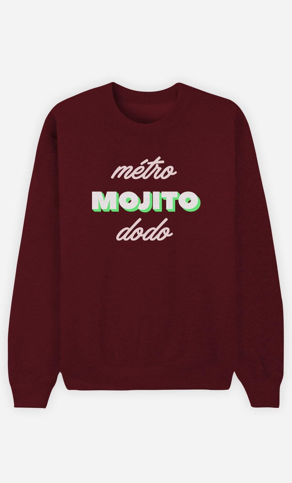 Sweat Bordeaux Métro Mojito Dodo