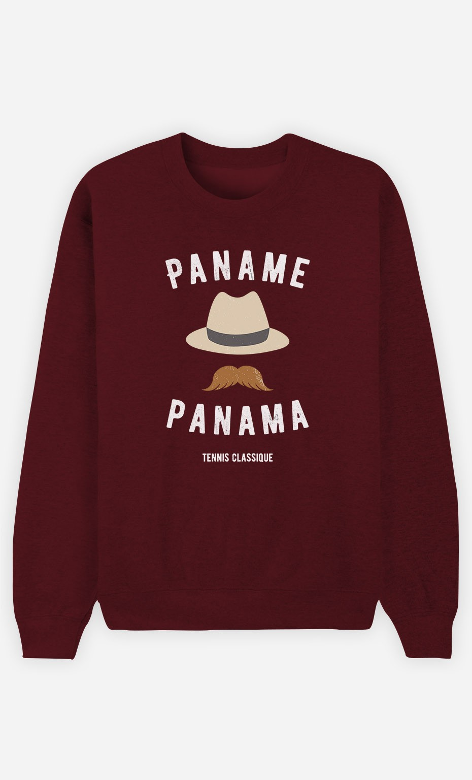 Sweat Bordeaux Paname Panama