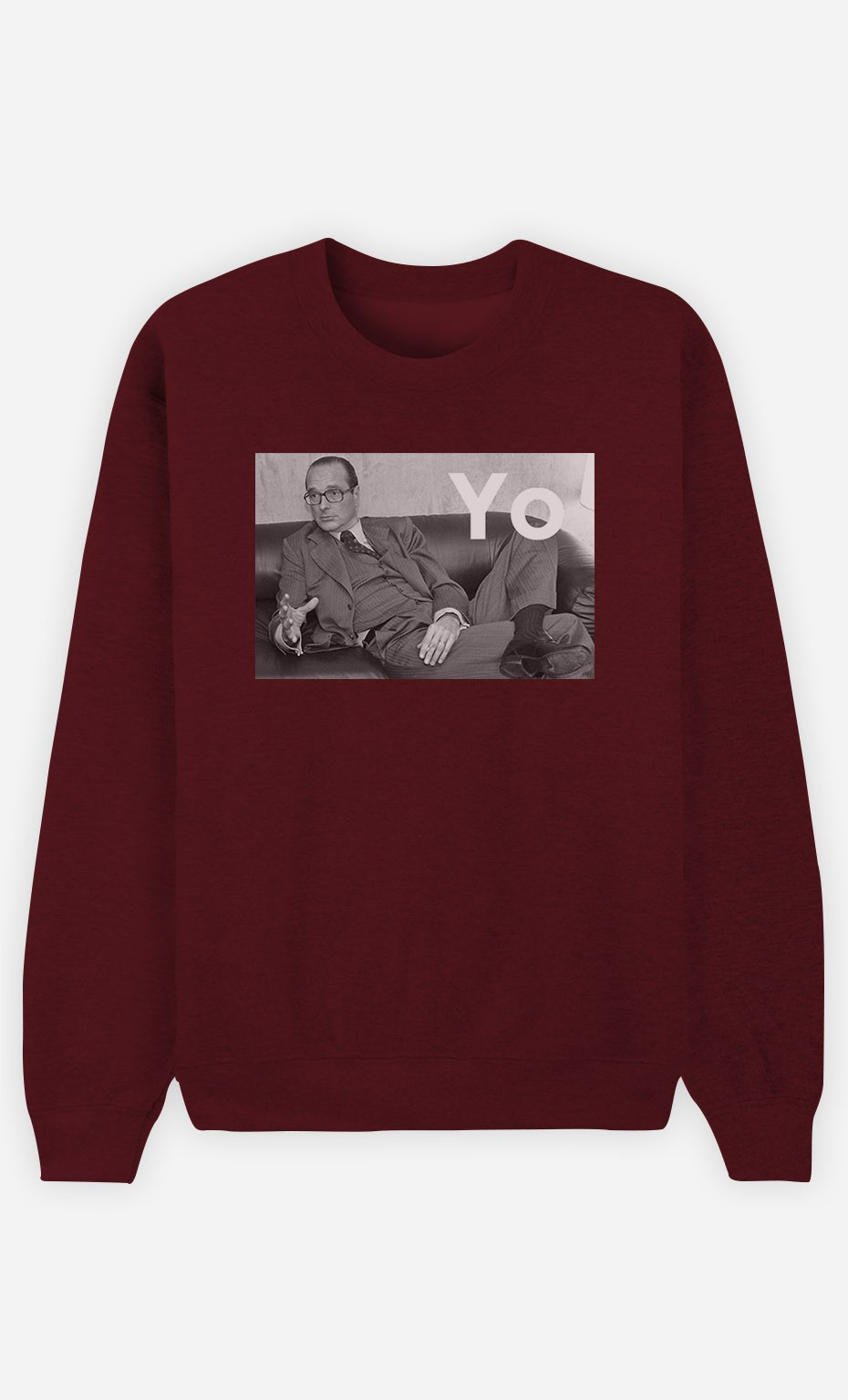 Sweat Homme Chirac Yo