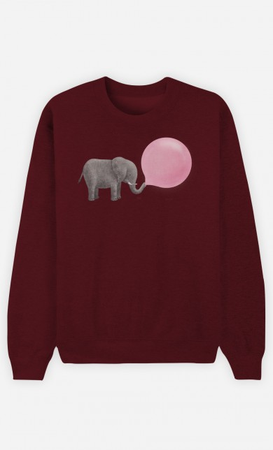 Sweat Bordeaux Jumbo Bubble Gum