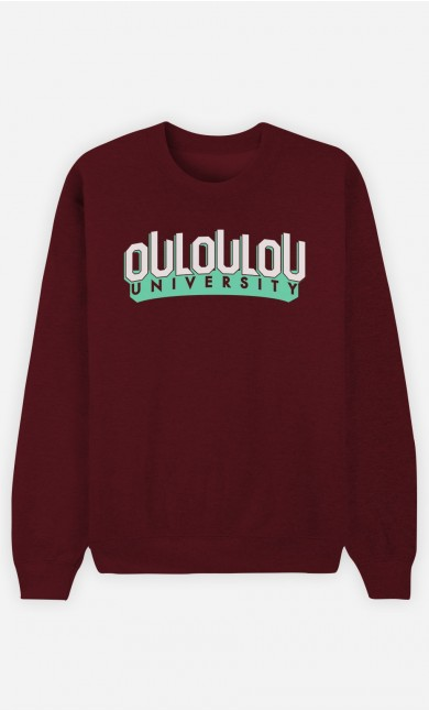 Sweat Bordeaux Ouloulou University