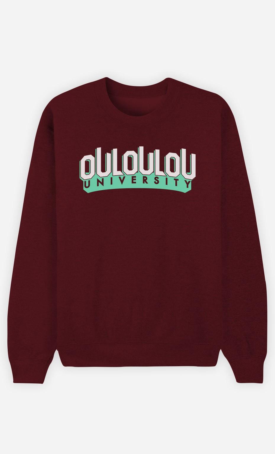 Sweat Bordeaux Ouloulou University