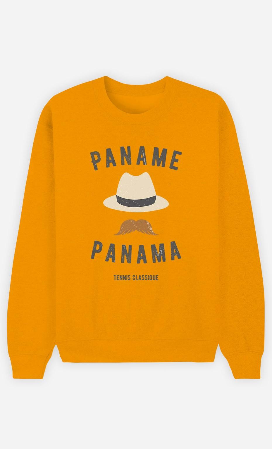 Sweat Moutarde Paname Panama