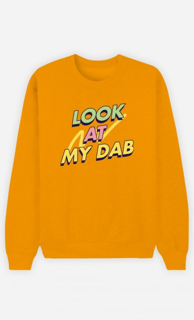 Yellow Sweater Look at My Dab