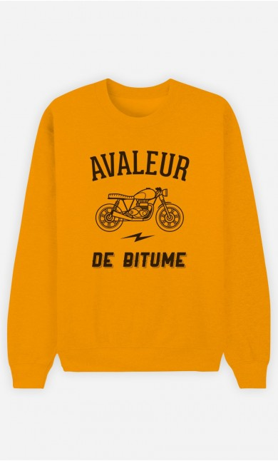Sweat Moutarde Avaleur De Bitume