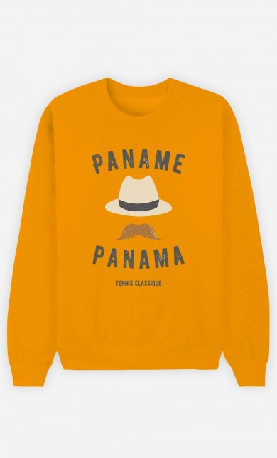 Yellow Sweater Paname Panama