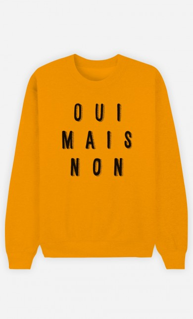 Yellow Sweater Oui Mais Non