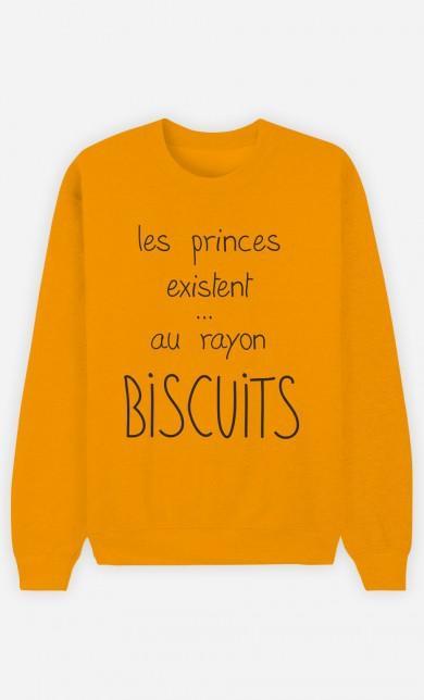 Sweat Moutarde Les Princes Existent