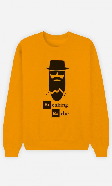 Yellow Sweater Breaking Barbe