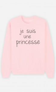 Sweat Femme Je Suis Une Princesse
