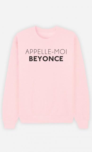 Pink Sweater Appelle-Moi Beyoncé
