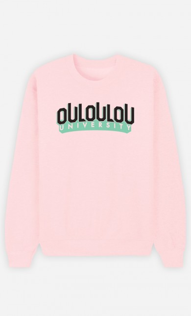 Pink Sweater Ouloulou University