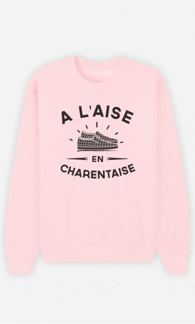 Sweat Femme À L'Aise en Charentaise
