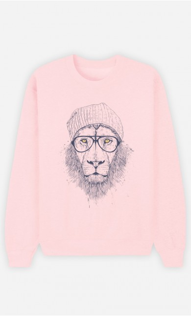 Sweat Femme Cool Lion