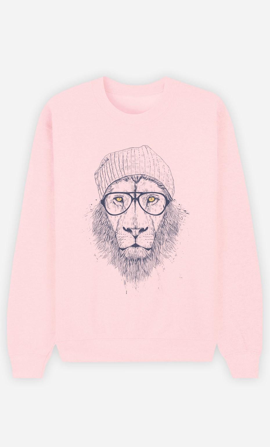 Sweat Femme Cool Lion