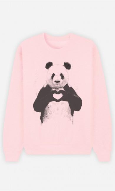 Sweat Rose Love Panda