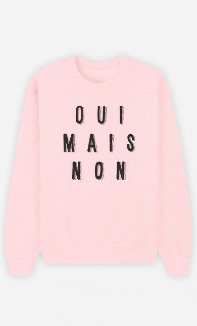 Pink Sweater Oui Mais Non