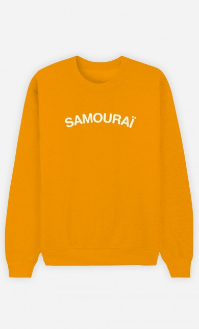 Sweat Moutarde Samouraï