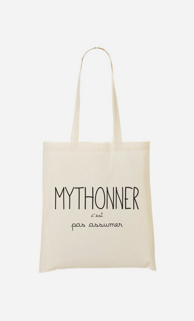 Tote Bag Mythoner c'est pas Assumer
