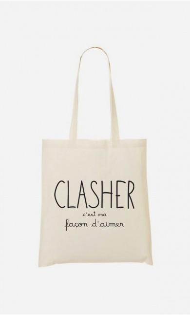 Tote Bag Clasher c'est ma Façon d'Aimer