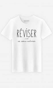 T-Shirt Homme Réviser c'est se Sous-estimer