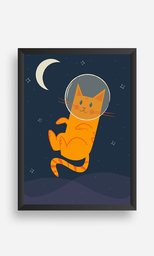 Cadre Cat in Space