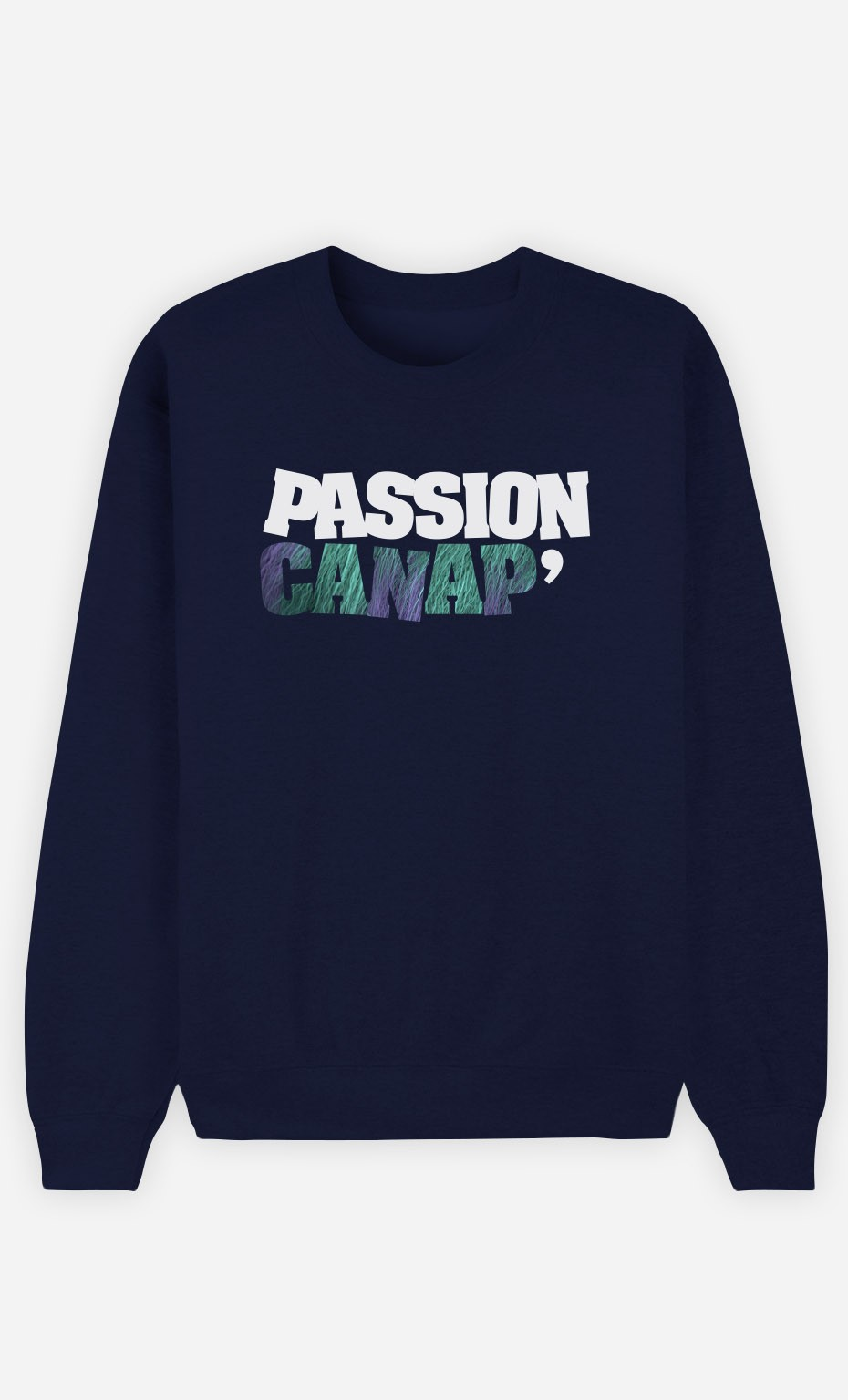 Sweat Bleu Passion Canap