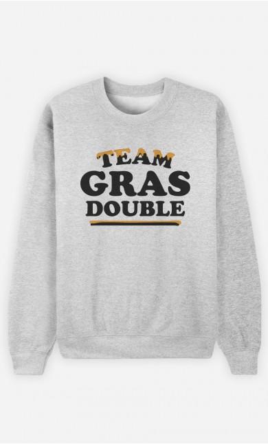 Sweat Homme Team Gras Double