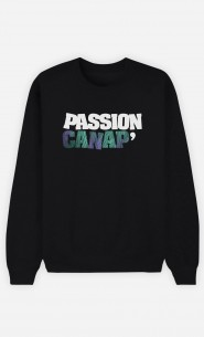 Sweat Noir Passion Canap