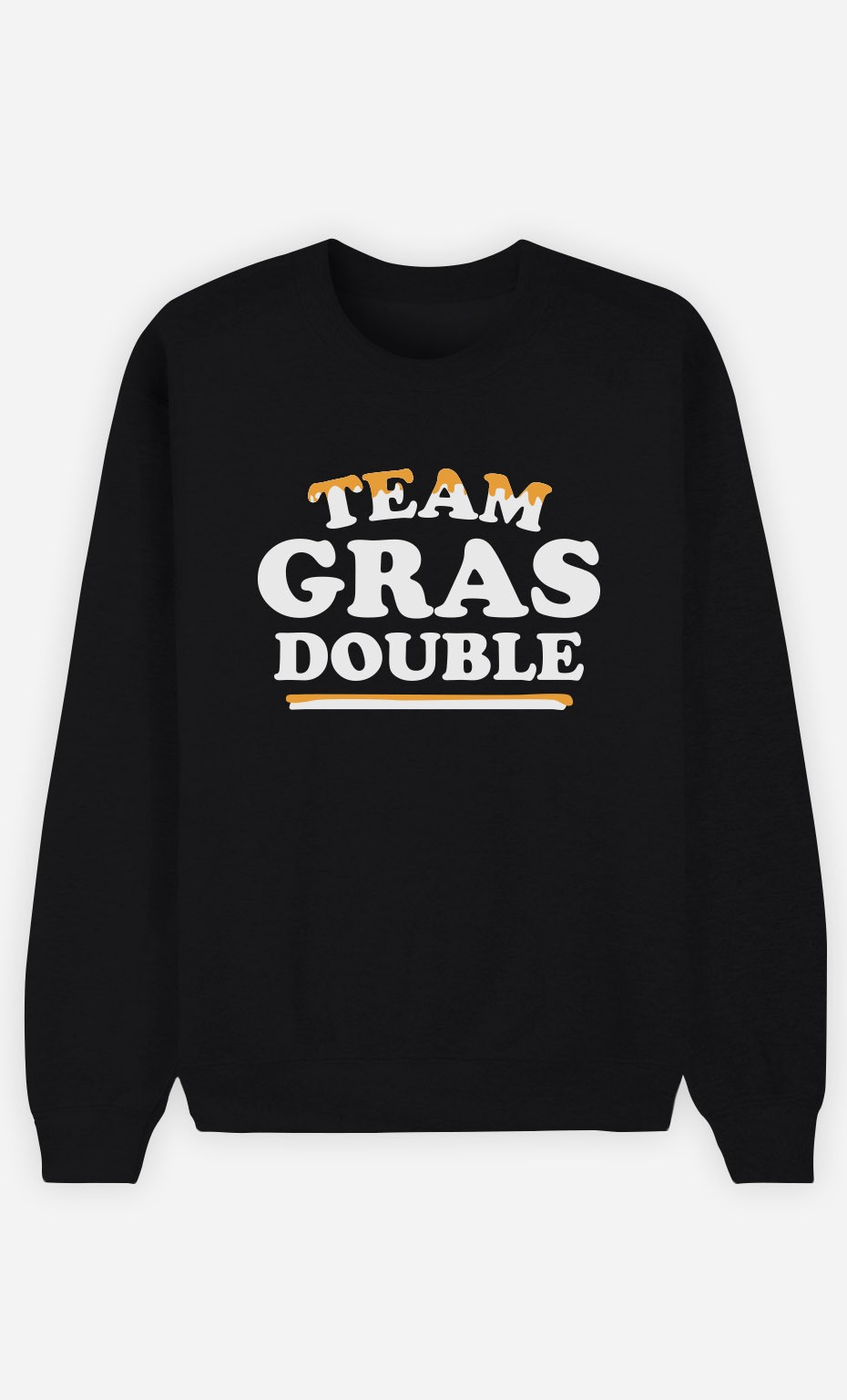 Sweat Homme Team Gras Double
