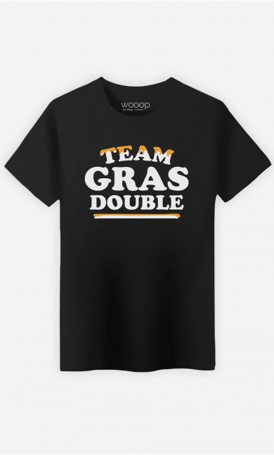 T-Shirt Homme Team Gras Double