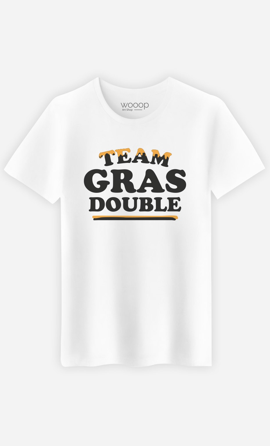 T-Shirt Homme Team Gras Double