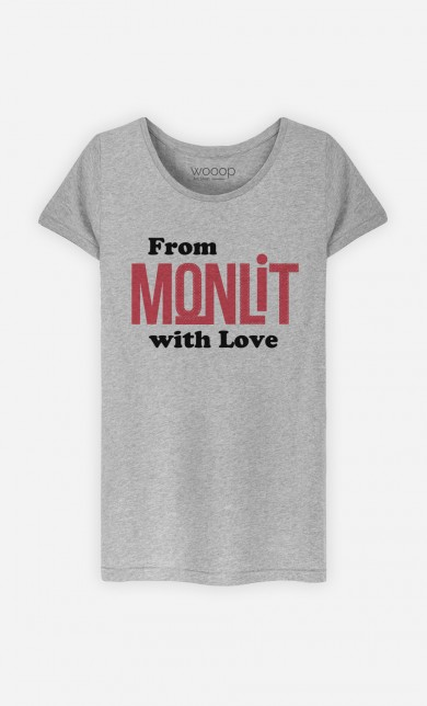 T-Shirt Gris From Mon Lit with Love