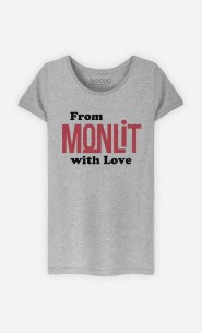 T-Shirt Femme From Mon Lit with Love