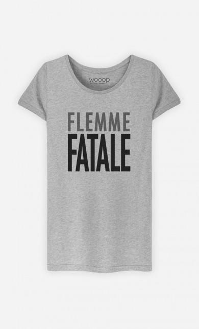 T-Shirt Gris Flemme Fatale