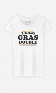T-Shirt Femme Team Gras Double