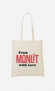 Tote Bag From Mon Lit with Love
