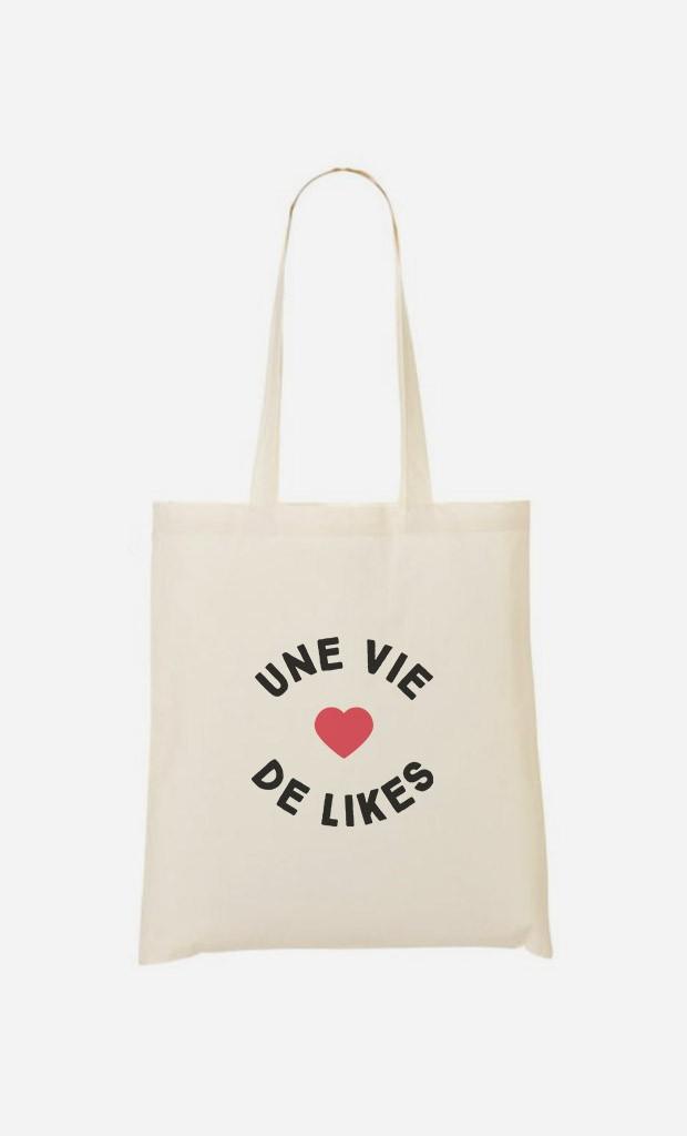 Tote Bag Une Vie de Likes
